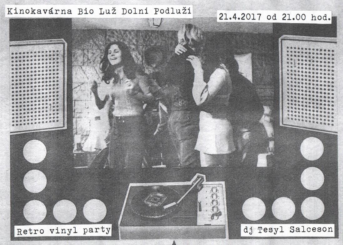 Retro vinyl party