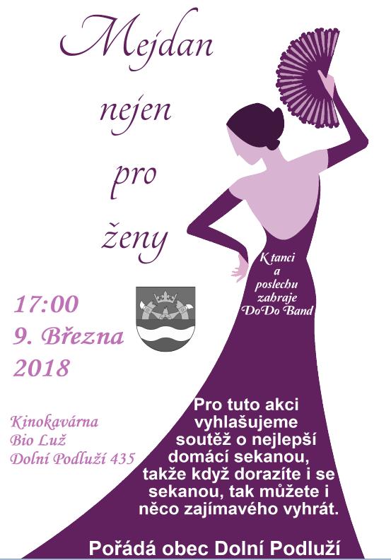 Plakát Mejdan nejen pro ženy