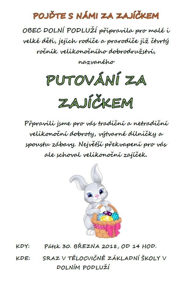Putování za zajíčkem - plakát